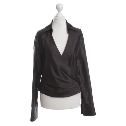 Strenesse Silk wrap blouse