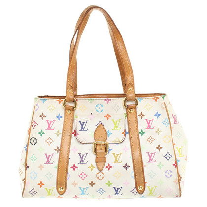 "Louis Vuitton ""Aurelia MM Monogram Multicolore Canvas"""