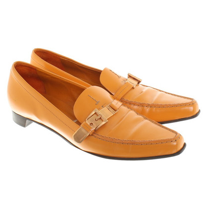Prada Loafer in Orange