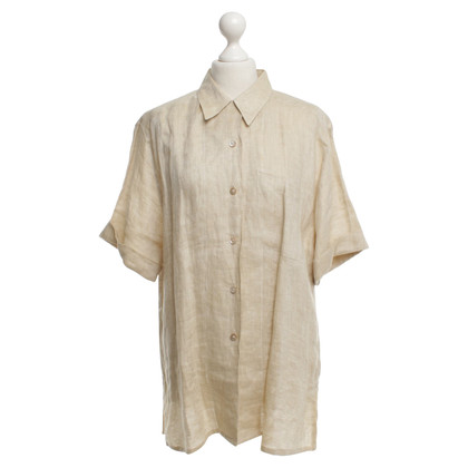 Van Laack Linnen blouse in beige