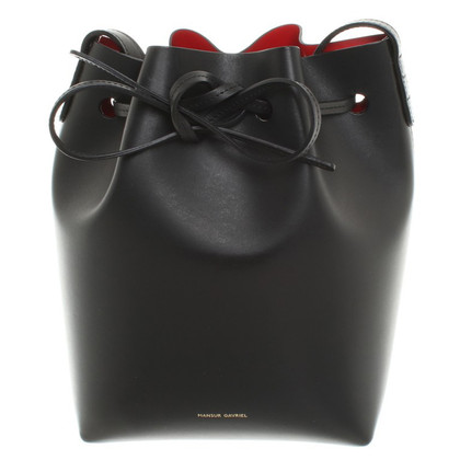 Mansur Gavriel Benna Bag in nero
