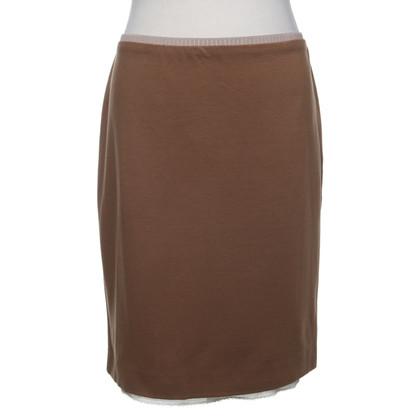 Marc Cain Cognac colored pencil skirt