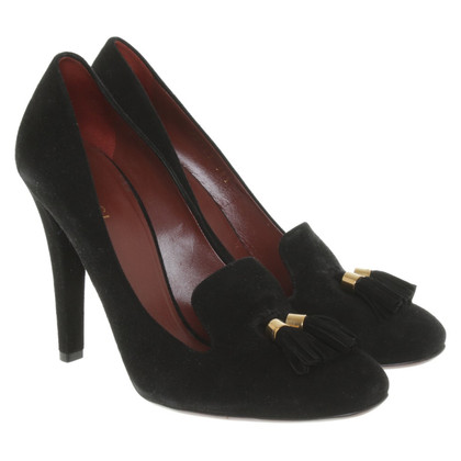 Gucci pumps suede