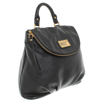 Marc by Marc Jacobs Black Leather Backpack
