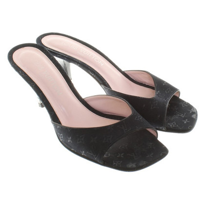 Louis Vuitton pumps met patroon
