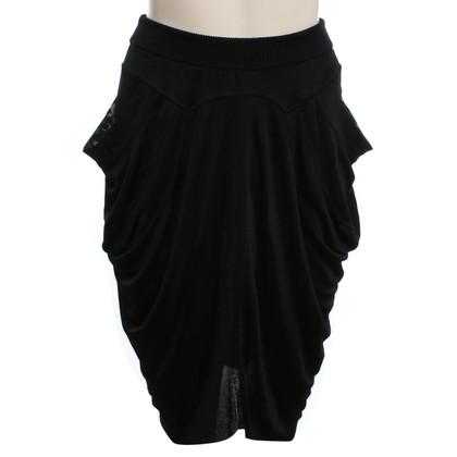 Alexander McQueen Taille rok in zwart