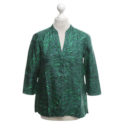 Tibi blouse en soie avec motif