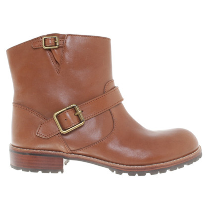 Marc by Marc Jacobs Biker Boots in Braun