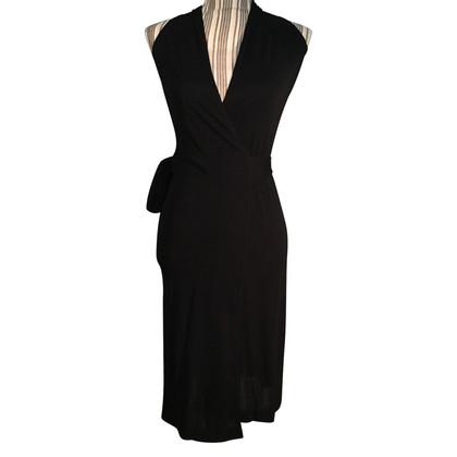 Max & Co wrap dress nero