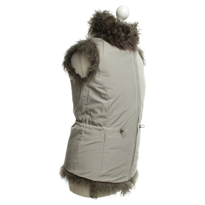 Max Mara Reversible vest with sheepskin