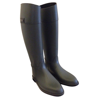 Max & Co Gray rain rubber boots