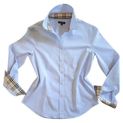 Burberry Blauw katoenen overhemd