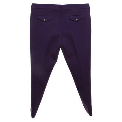 Burberry trousers in violet