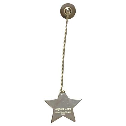 Maison Martin Margiela Silver colored brooch