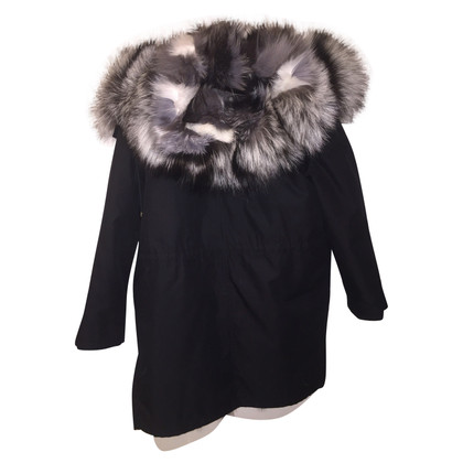 Yves Salomon Army Parka with Fox Fur lining