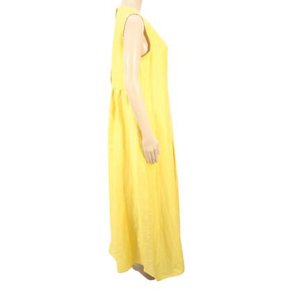 Max Mara Abito di lino in giallo