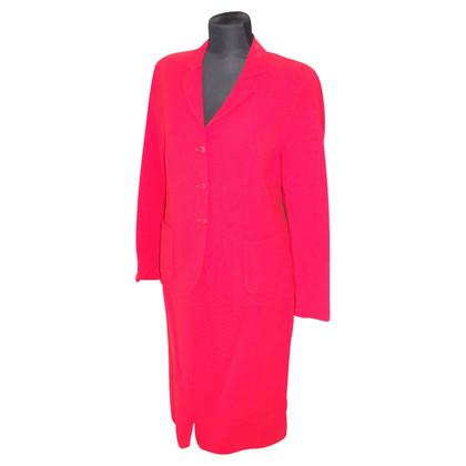 Escada Costume in het rood