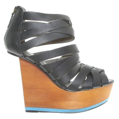 Finsk Sandals in zwart