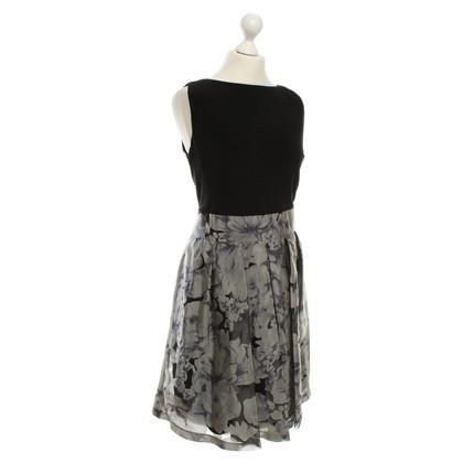 Ralph Lauren Kleid in Schwarz/Grau