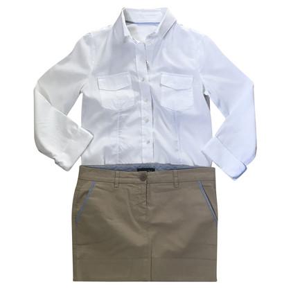 Patrizia Pepe Set shirt and skirt