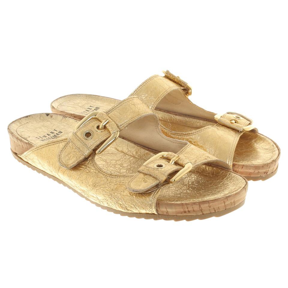 sandalen gold flach elegante damen sandalen 97478. Black Bedroom Furniture Sets. Home Design Ideas