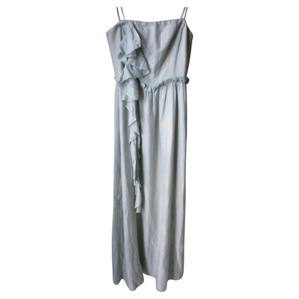 Hoss Intropia Jadegrünes silk dress