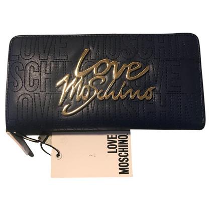 Moschino Love Portemonnaie in Blau