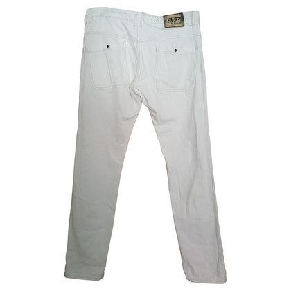 Michalsky Weiße Boyfriend-Jeans