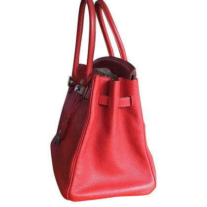 "Hermès ""Birkin Bag 35 Togo Rouge pimento"""
