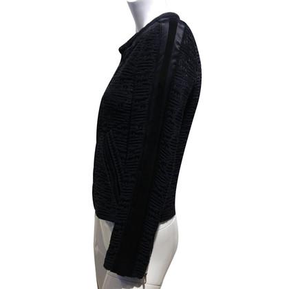 Iro Blazer with leather details