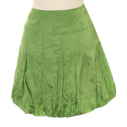 Marc Cain Balloon skirt in green