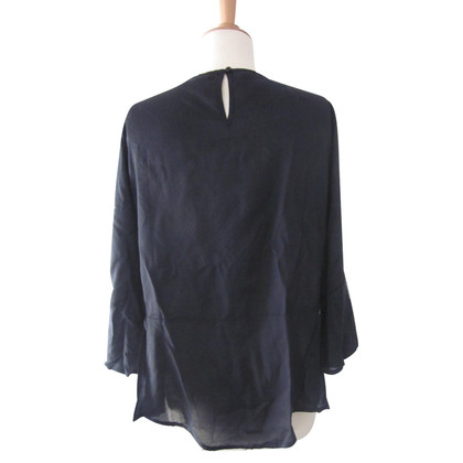 Velvet Blouse with embroidery