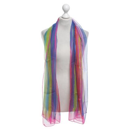 Emanuel Ungaro Sciarpa di seta in Multicolor