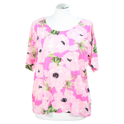 French Connection Floral Top in Pink