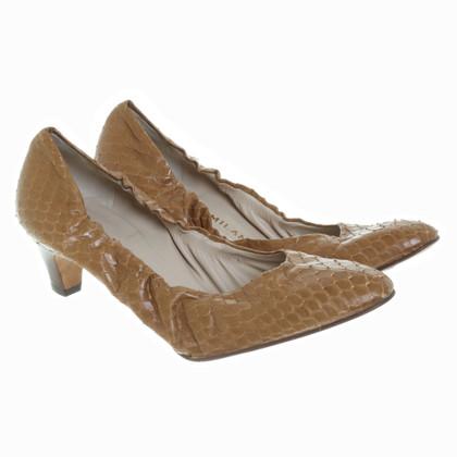 Prada Pumps snake leather