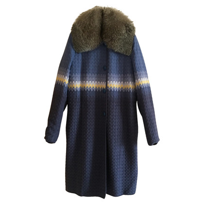 Missoni Coat with silver fox 44 IT
