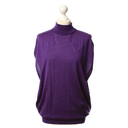 Gucci Purple knit pullover