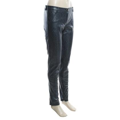 Pinko trousers in reptile optics