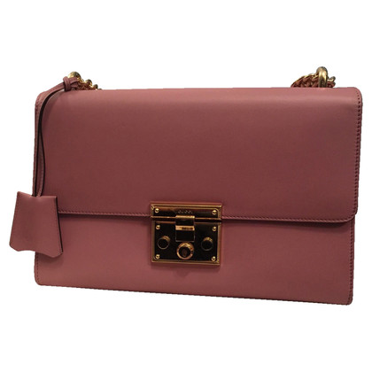 "Gucci ""Padlock Bag"" in Rose/Nude"