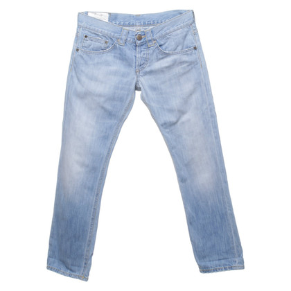Dondup 7/8 jeans in light blue