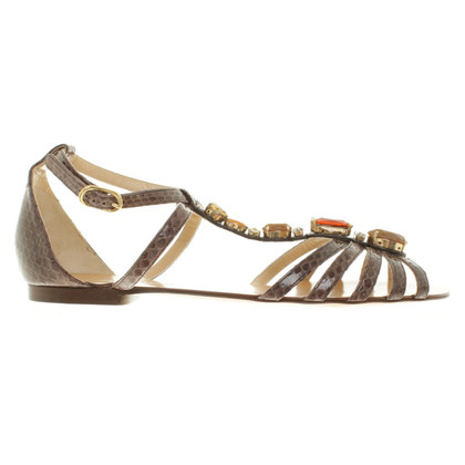 Dolce & Gabbana Sandals in brown