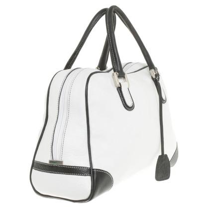 Marina Rinaldi Handbag in white / black