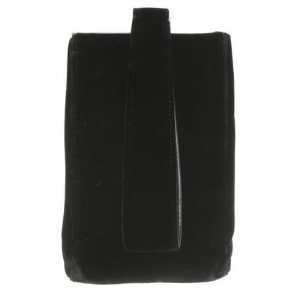 Jil Sander Velvet pouch
