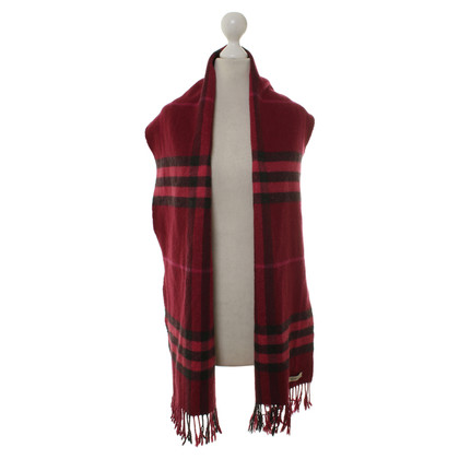 Burberry Scarf with pattern