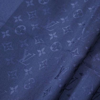 Louis Vuitton Scialle Monogram Blue Notte