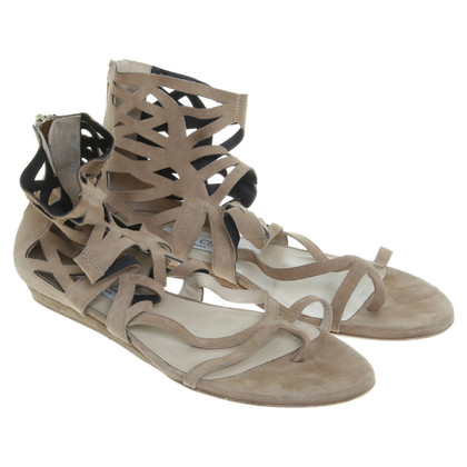 Jimmy Choo Cut-Out-Sandalen mit Schaft