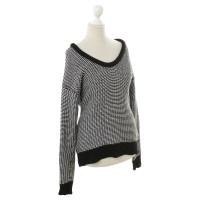 Alexander Wang Sweater in black/white