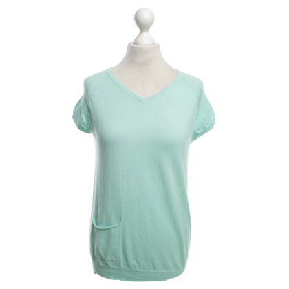 Hemisphere Short sleeve pullover in mint green