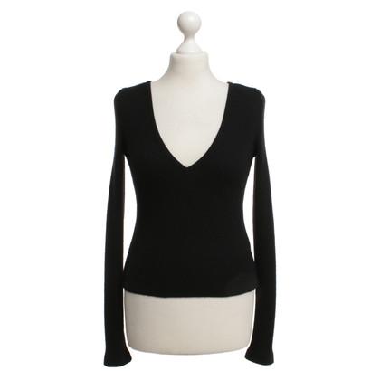 Chanel maglione maglia in nero
