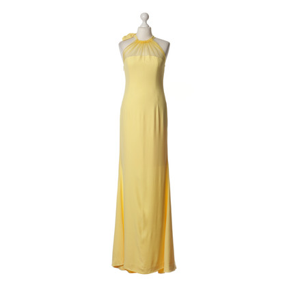 Alexis Mabille Gala dress in yellow